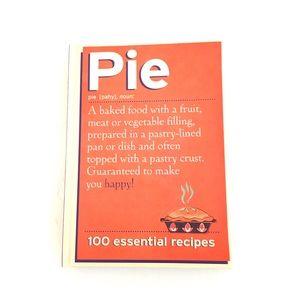 New Hardcover Cookbook- PIE 100 Essential Recipes